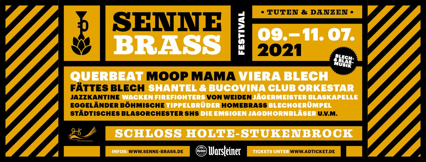 Senne Brass 2021 Lineup
